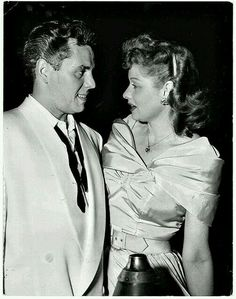 Desi Arnez & Lucille Ball 1942