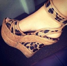 Material:Cloth|Heel Height:12cm|Pattern:Leopard