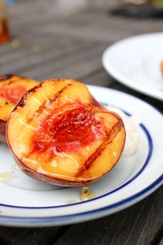 Grilled peaches And other grilled recipes