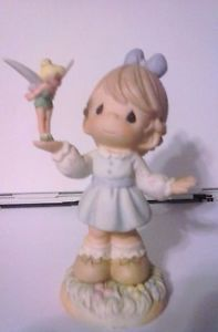 """Precious Moments """" Figurine Make Every Day Magical """" with Disney's Tinkerbell"""