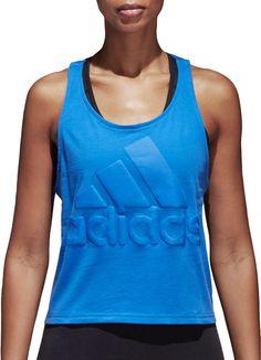 adidas Women s Sport ID Cropped Tank Top 42c1461d0e0