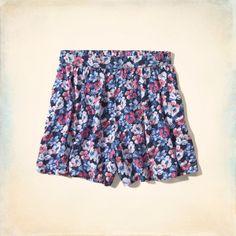 Bettys Hollister High Rise Culotte Shorts | Bettys Shorts | HollisterCo.ca
