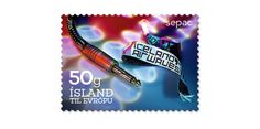 COLLECTORZPEDIA: Iceland Stamps SEPAC - Culture. Iceland Airwaves music festival.