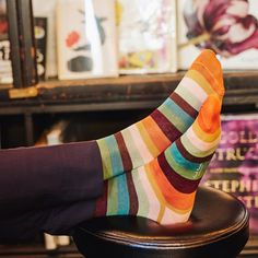 Striped socks from Paul Smith Patterned Socks, Striped Socks, Paul Smith Socks, Foot Socks, Men's Socks, Sock Subscription, Mens Sports Socks, Socks World, Unique Socks