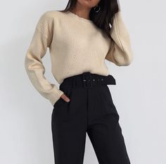office outfits for young professionals Mode Outfits, Korean Outfits, Office Outfits, School Outfits, Fashion Mode, Look Fashion, Korean Fashion, Workwear Fashion, Trendy Fashion