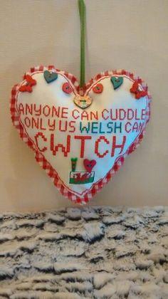 Mini Cwtch Cushion
