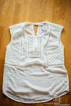 Daniel Rainn Lyn Eyelet Detail Top - would love this for spring/summer...so many options (jeans/capris/solid shorts), loving the white!