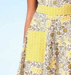 K4098, Misses' Dresses and Belt