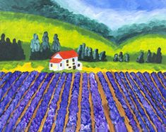 Social Artworking: Lavender Fields
