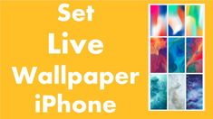 How to Set Live Wallpaper iPhone.(UPDATED)