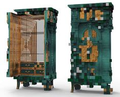 PICCADILLY | Emerald Green Cabinet . A luxury armoire by Boca do Lobo | jebiga | #furniture