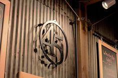 Steel Logo Against Corrugated Metal | Flickr - Photo Sharing!
