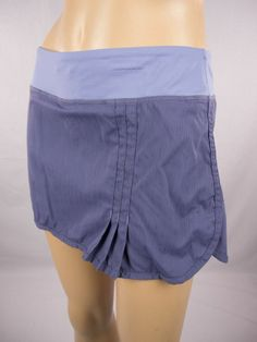 LULULEMON Tennis Skirt Sz S Blue Short Lined