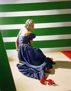 Dress By Hattie Carnegie, 1939 Photo: Conde Nast/Horst Estate
