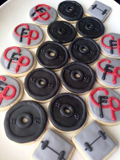 Crossfit Weight Plates   Cookie Connection