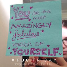 YEAH you are! For ‪#‎FBCFriday‬ today, I wrote out 2 versions of this little gem - one is stuck in a public ‪#‎womens‬ bathroom at my local shopping area and the other one is in my own home to remind myself ‪#‎FearlessBodyConfidence‬ is about making yourself feel comfortable in your own skin as well as ‪#‎empowering‬ others to do the same. How will you help those around you? ‪#‎postit‬ ‪#‎note‬ ‪#‎message‬ ‪#‎love‬ ‪#‎loveyourself‬ ‪#‎bodypositive‬ ‪