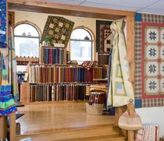 Fiddlesticks - Shop Photos. I like how they've had the cupboards ... : quilt shops albuquerque - Adamdwight.com