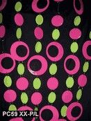 Pink and Lime Hip Circle PVC Curtain - Event Decor Direct - North America's Premier Wedding Supplies Wholesale, Diy Wedding Supplies, Diy Party Supplies, String Curtains, Beaded Curtains, Panel Curtains, Curtain Panels, Hanging Door Beads, Event Decor Direct