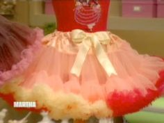 Watch Martha Stewart's Pettiskirts Video. Get more step-by-step instructions and how to's from Martha Stewart.