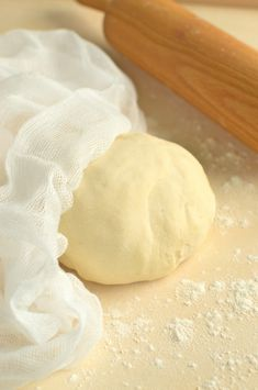 Ciasto na pierogi – przepis podstawowy Polish Recipes, Strudel, Camembert Cheese, Recipies, Food And Drink, Bread, Dinner, Cooking, Food