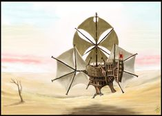 """Contribution to the contest """"Sand Pirate Vessel"""" Software used: Painter 12 Hardware used: MacBook Pro, Wacom Bamboo Time taken: 10 to 15 hours WIPs: Sorry, forgot to put one aside during the p. Steampunk Ship, Steampunk Design, Flying Ship, Flying Boat, Fantasy World, Fantasy Rpg, Treasure Planet, Fantasy Setting, Punk Art"""