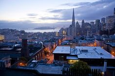 Waiting for Sunrise in San Francisco