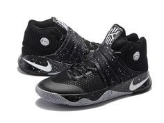 newest 13be4 692d9 Nike Kyrie 2 II Chaussures Nike Basketball Pas Cher Pour Homme Noir   Blanc