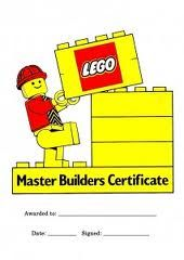 Fantastic idea to print a few certificates for a Lego build competition.