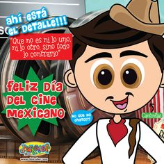 """""""Congratuleishons"""" a todos los actores de la gran pantalla mexicana !!! #DiaDelCineMexicano"""
