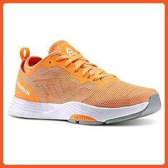 99ed1a54720 Reebok Womens LES MILLS CARDIO ULTRA 2.0 Dance Shoes Electric Peach   Stone    White   Grey Size 8 - Athletic shoes for women ( Amazon Partner-Link)
