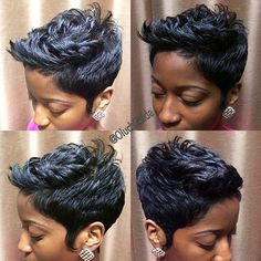 Well, one of the most trendy haircuts this year is the pixie haircut. Short Sassy Hair, Short Hair Cuts, Short Hair Styles, Superkurzer Pixie, Pixie Cuts, Short Pixie, Short Perm, Edgy Pixie, Pixie Cut Kurz