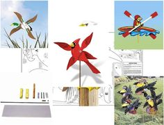 Sherwood's Whirligig Woodworking Pattern Plans. There are 17 wonderful pattern plans to enjoy choosing from! Enjoy making Whirligigs they are fun!