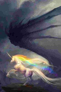 El Unicornio y El Dragón efímero
