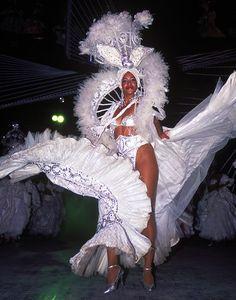 Cuban dancer performs at the Tropicana Cabaret in Havana