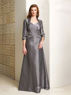 【Everytide.com Mother of the Bride Dress】Wholesale Spaghetti Straps Taffeta A-line Mother of the Bride Dresses / Formal Party Dresses