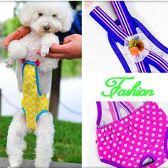 Pet Dog cotton Physiological Pants tighten strap sanitary Pet Underwear Diapers
