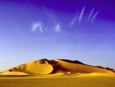 Gambar Pemandangan Alam - Padang Pasir