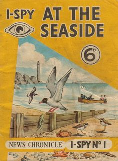 "I spy an imminent oil spill. adventures-of-the-blackgang: "" I-Spy At The Seaside - Daily News, London "" I Spy Books, My Books, Ladybird Books, The Old Days, My Childhood Memories, Teenage Years, Vintage Books, Vintage Travel, My Memory"
