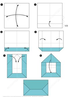 Origami Envelope Instructions from Origami (Paper Folding) category. Hundreds of free printable papercraft templates of origami, cut out paper dolls, stickers, collages, notes, handmade gift boxes with do-it-yourself instructions.