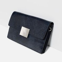 Image 2 of EMBOSSED CLUTCH from Zara