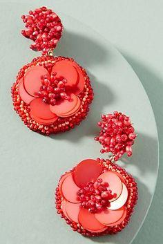 Marnie Floral Drop Earrings