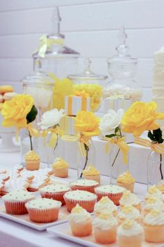 white and yellow party