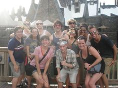 Starkid at the Wizarding World of HP=supermegafoxyawesomehot Very Potter Musical, Avpm, Team Starkid, Afraid Of The Dark, Harry Potter Love, Darren Criss, Totally Awesome, Real Man, Musical Theatre