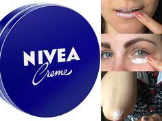 Η Nivea στο κλασσικό μπλε κουτάκι είναι βασική κρέμα σε πολλά ντουλάπια μπάνιου και χρησιμοποιείται εξίσου από άνδρες και γυναίκες. Πολλοί άνθρωποι κουβαλάνε μια στην τσάντα τους. For Your Eyes Only, Diet Tips, Lip Makeup, Beauty Hacks, Hair Beauty, Lips, Make Up, Skin Care, Health