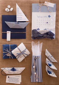 This is an adorable navy style invitation! Perfect exclucive invitation for birthday parties, shower parties and baptisms! This is a cute paper origami boat with strired printing! The text of the event is printed on the cloth of the boat The envelope of the invitation is handmade