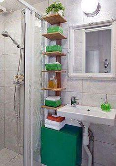 Small Bathroom Storage And Decor