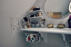 make up table in small space - Google Search