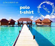 Polo T-shirt μόνο από 7,80€ :) Διαθέσιμο σε πολλά χρώματα είναι μία ευκαιρία για να εμπλουτίσεις την καλοκαιρινή γκαρνταρόμπα σου, οικονομικά και ποιοτικά!