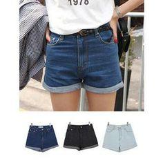 Denim Shorts  from #YesStyle <3 URBAN LADY YesStyle.com