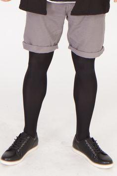 69b8b5ebe8e Adrian City soft opaque tights for men